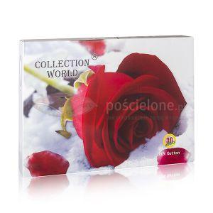 Pościel 3D - Różany Sen - 160x200 cm - 3 cz