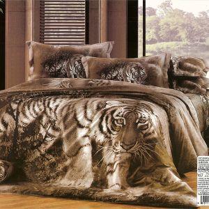 Pościel 3D - Tygrys - 220x200 cm - 3 cz - AD-107-04