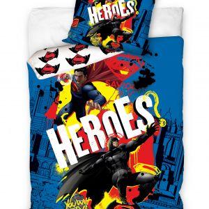 Pościel 3D - Heroes - 160x200 cm - 2 cz - BATSUP8003
