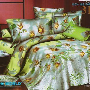 Pościel 3D - Kwitnące Kwiaty - 160x200 cm - 3 cz -233-04