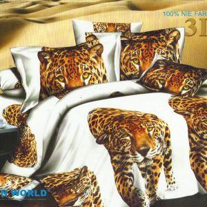 Pościel 3D - Gepard - 160x200 cm - 4 cz - 234-06