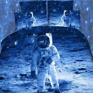 Pościel 3D - Kosmonauta - 160x200 cm - 3 cz - 254-10