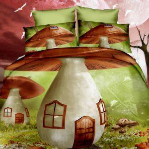 Pościel 3D - Leśna Przygoda - 160x200 cm - 3 cz - 258-01