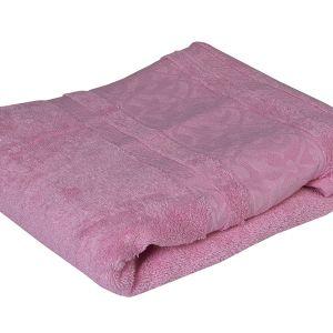 Ręcznik bambusowy - Motif - Różowy - 70 x 140 cm