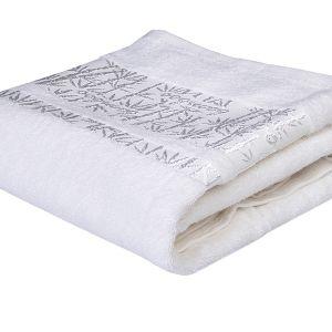 Ręcznik bambusowy - Lora - Biały - 70 x 140 cm