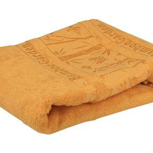 Ręcznik bambusowy - Garden - Złoty - 70 x 140 cm