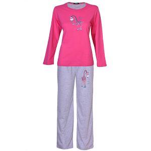Piżama damska BENTER 65581 różowa XL