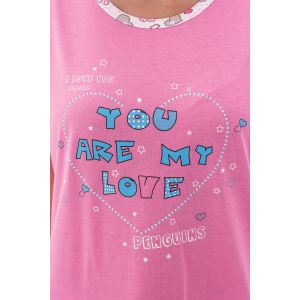 Piżama Damska Valerie Dream - Różowa (LK4158)