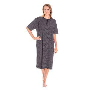 Koszula Nocna Damska Valerie dream - Czarna (DP6137)