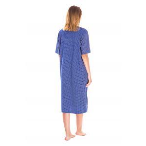 Koszula Nocna Damska Valerie dream - Niebieska (DP6137)