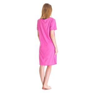 Koszula Nocna Dla Mam Karmiących - Różowa (86386)