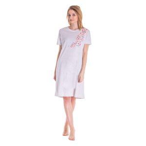 Koszula Nocna Benter - Szara (65610)