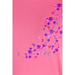 Koszula Nocna Benter - Różowa (65610)