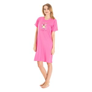 Koszula Nocna Benter - Różowa (65619)