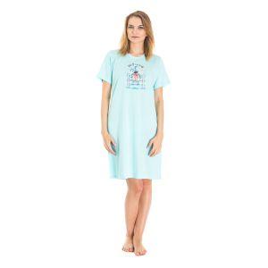 Koszula Nocna Benter - Błękitna (65619)