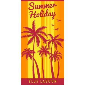 Ręcznik plażowy Blue Lagoon 70x140 - Plaża