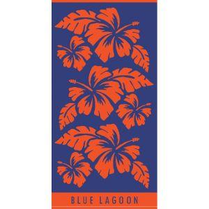 Ręcznik plażowy Blue Lagoon 70x140 - Kwiaty