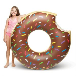 Koło do pływania - czekoladowy pączek