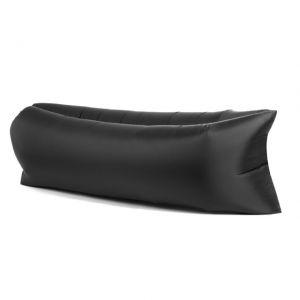Lazy Bag AIR SOFA materac leżak - czarny