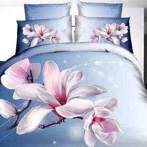Pościel 3D - Anielska Magnolia - 140x200 cm - 2 cz - 4201-03