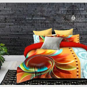 Pościel 3D - Kolorowy Styl - 160x200 cm - 3 cz - 609-02