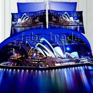 Pościel 3D - Opera Sydney - 220x200 cm - 4 cz - 237-03