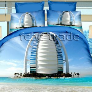 Pościel 3D - Burj Al Arab - 220x200 cm - 4 cz - 237-04