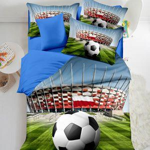 Pościel 3D - Stadion Narodowy - 160x200 cm - 4 cz - 402-02