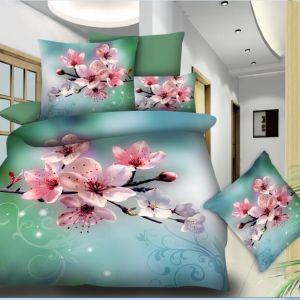 Pościel 3D - Kwiat Wiśni - 140x200 cm - 2 cz BE-D- 788-10