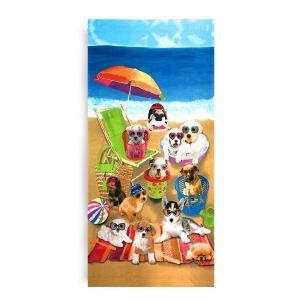 Ręcznik plażowy 70x145 cm - Zwierzaki Na Plaży RPL-20