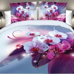 Pościel 3D - Kwiat Storczyka- 160x200 cm - 4 cz - 013-11