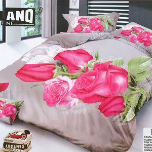 Pościel 3D - Różowe Róże - 160x200 cm - 4 cz - MI6197