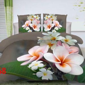 Pościel 3D - Delikatny Kwiat - 160x200 cm - 3 cz - 4219-368