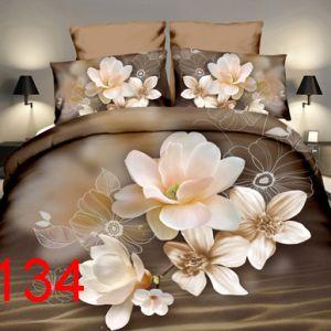 Pościel 3D - Kwiaty Magnolii - 140x200 cm - 2 cz - 4211-134
