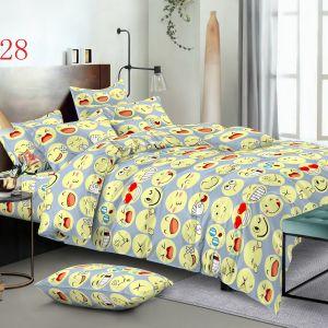 Pościel 3D - Kolorowe Emotki - 160x200 cm - 4 cz - 4224-428