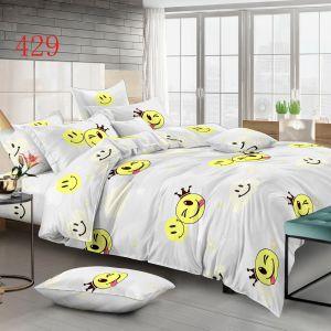 Pościel 3D - Emoji - 160x200 cm - 4 cz - 4224-429