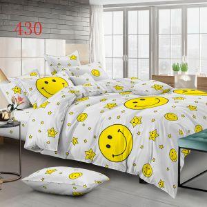 Pościel 3D - Żółte Buźki - 160x200 cm - 4 cz - 4224-430