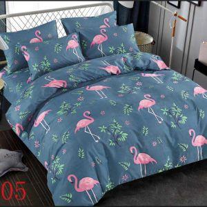 Pościel 3D -  Flamingi - 220x200 cm - 3 cz - 4229-405