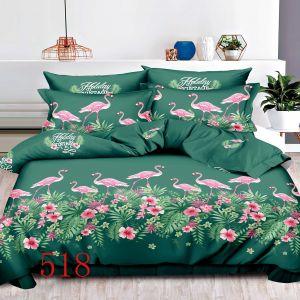 Pościel 3D - Bajeczne Flamingi - 220x200 cm - 3 cz - 4229-518