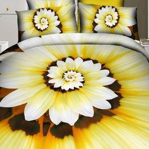 Narzuta 3D - Kwiatowa Iluzja - 220 x 200 cm - 3 cz - 2302-09
