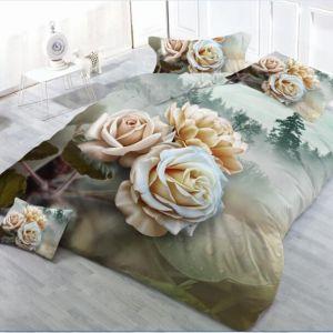 Pościel 3D - Różany Bukiet  - 220x200 cm - 4 cz - MI6222