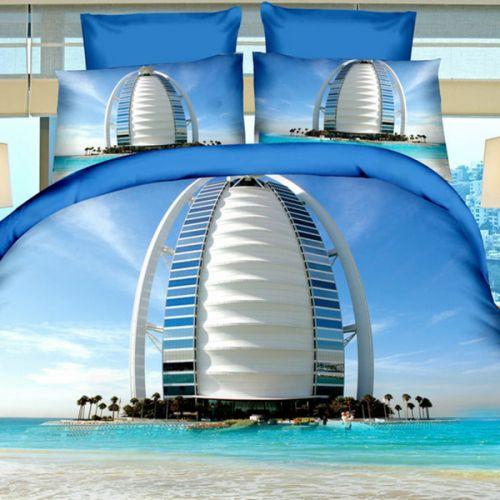 Pościel 3D - Burj Al Arab - 160x200 cm - 3 cz - 237-04
