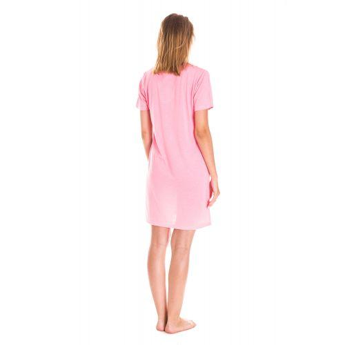 Koszula Nocna Damska Valerie dream - Różowa (DP6338)
