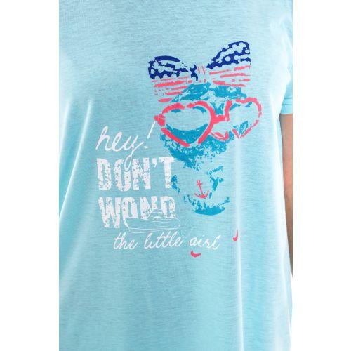 Koszula Nocna Damska Valerie dream - Niebieska (DP6338)