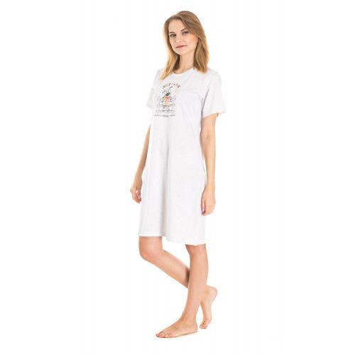 Koszula Nocna Benter - Szara (65619)