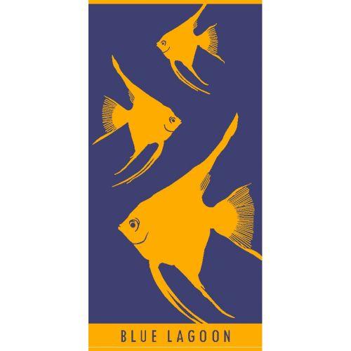 Ręcznik plażowy Blue Lagoon 70x140 - Rybki