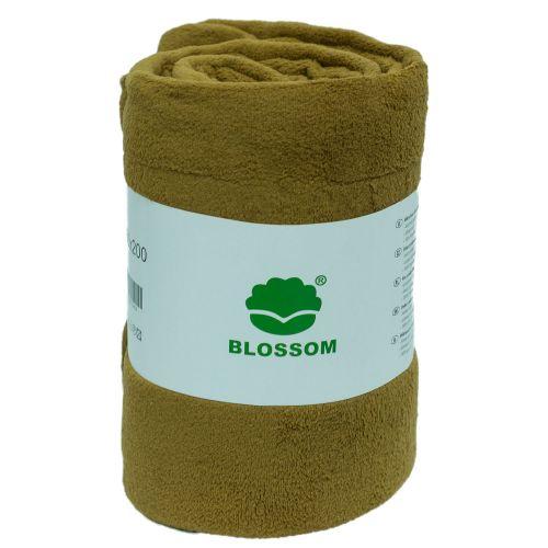 Koc z mikrofibry Blossom 150x200 - beż - BLM-05