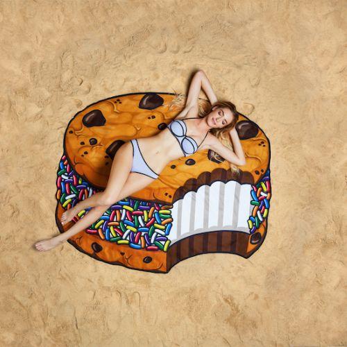 Koc plażowy - ciasteczko