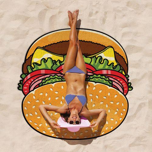 Koc plażowy - burger