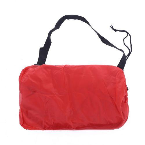 Lazy Bag AIR SOFA materac leżak - czerwony